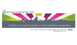 Global Challenges in Tansport | Oxford 10 December 2015