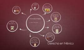 El Derecho en México (Constituciones)