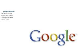 BAMG 350 Google, Inc.