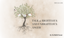 CCW TALK 4: RIGHTEOUS AND UNRIGHTEOUS ANGER