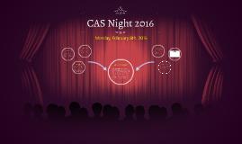 CAS Night 2016
