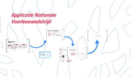 Conceptversie applicatie Nationale Voorleeswedstrijd