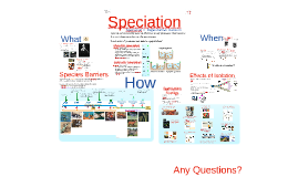 Chapter 24 - Speciation