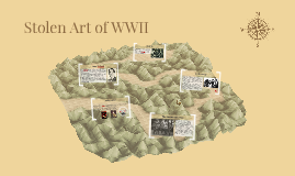 Stolen Art of WWII