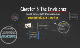 Chapter 3 The Envisioner