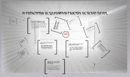 14 PRINCIPIOS DE LA ADMINISTRACION DE HENRI FAYOL