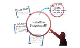 Copy of Copy of Relative Pronouns