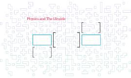Physics and The Ukulele