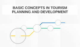 BASIC CONCEPTS IN TOURISM PLANNING AND DEVELOPMENT