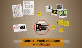 Copy of Othello - Work of Allison and Giorgia