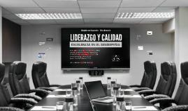 Liderazgo y calidad MED 2016-1