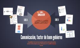 Comunicación, factor de buen gobierno