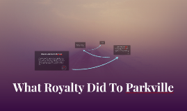 What Royalty Did To Parkville