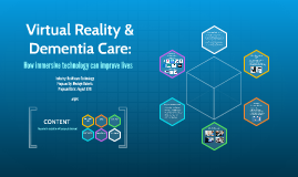Virtual Reality & Alzheimer's Care