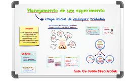 1. Planejamento de um Experimento