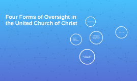 Four Forms of Oversight