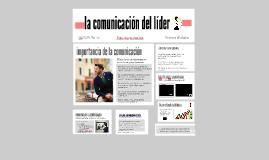Liderazgo y comunicación