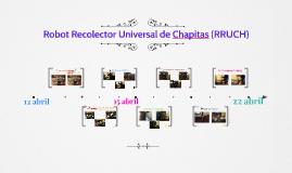 Robot Recolector Universal de Chapitas (RRUCH)