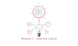 Reaction 3 - Duke Sex Culture