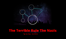 The Terrible Rule The Nazis
