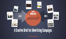 A Creative Brief for Advertising Campaigns