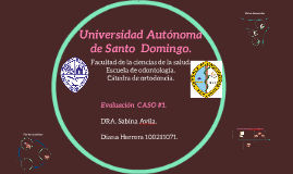 Universidad Autonoma de Santo  Domingo.