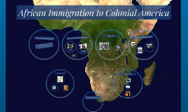 African Immigration to Colonial America Visual Presentation