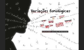 Variações fonológicas LS