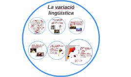 La variació lingüística