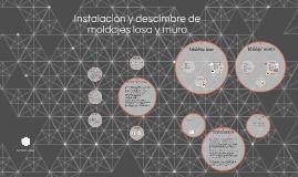 Copy of Instalacion y descimbre de moldajes losa y muro