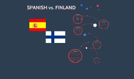 SPANISH vs. FINLAND