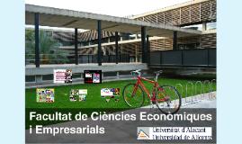 2017-2018 Fac. Econòmiques i Empresarials UA