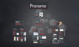 Copy of Pronome