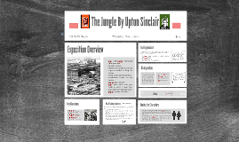 Rising Action Presentation of The Jungle By Upton Sinclair