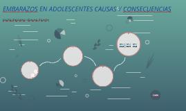 EMBARAZOS EN ADOLESCENTES CAUSAS Y CONSECUENCIAS