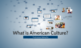 What is American Culture?