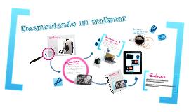 Copy of Desmontaje de un walkman