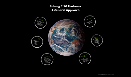 Solving CISG Problems - A General Approach