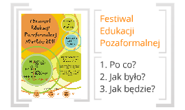 Festiwal Edukacji Pozaformalnej