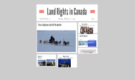 Land Rights in Canada