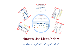 How to Use LiveBinders - Basic Tutorial