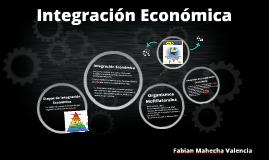 Actividad 1, Integracion Economica