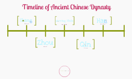 Ancient Chinese Dynasty Timeline by Jamie Calica on Prezi
