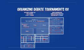 IDE '16 - Organising Debate Tournaments 101