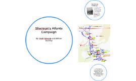 Copy of Sherman's Atlanta Campaign