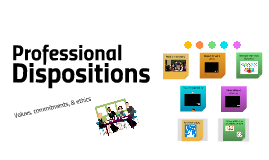 Professional Dispositions for FE Orientation