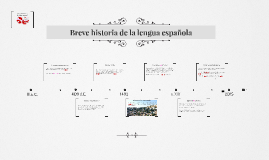 eve historia de la lengua española