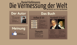 Copy of Copy of Die Vermessung der Welt
