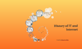 History of IT and internet