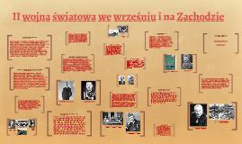 Copy of II wojna światowa we wrześniu i na Zachodzie